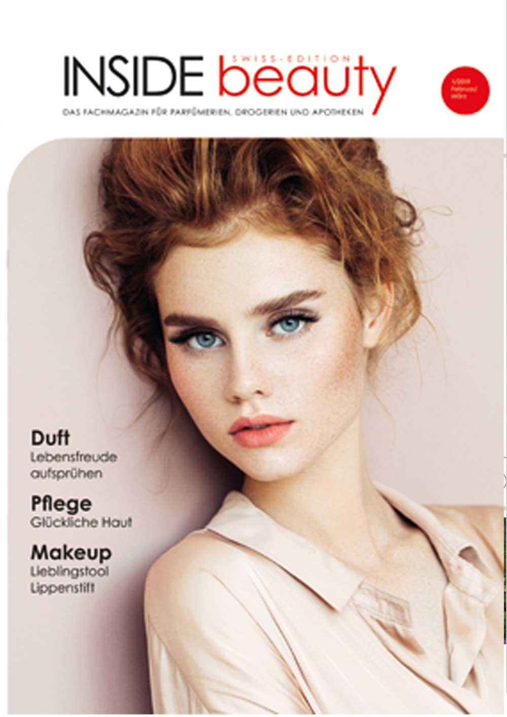 INSIDE beauty Swiss Edition - Ausgabe 01/2019