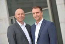 Frank Haensel (links) und Christian Lorenz, Geschäftsführer der beauty alliance Deutschland