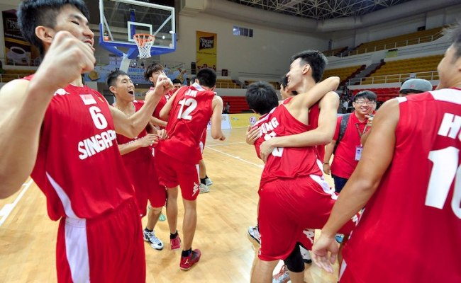 Sea Games Bball Singapore Beat Myanmar To Win Bronze