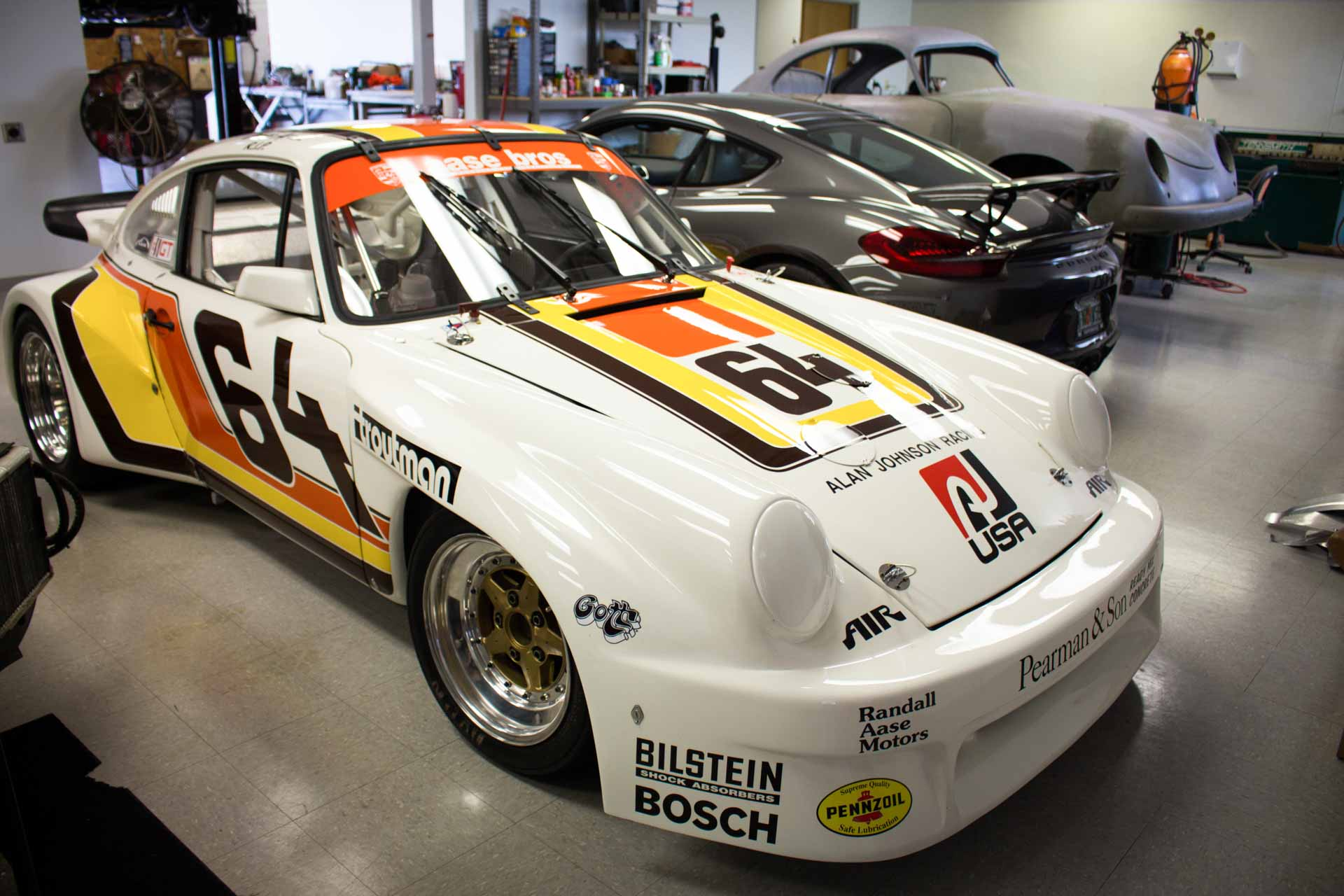 aase brothers porsche 911 gtu race car