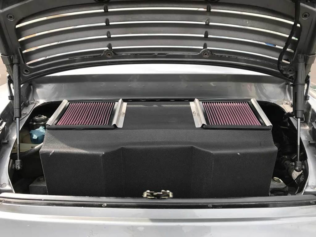 custom porsche 996 turbo airbox
