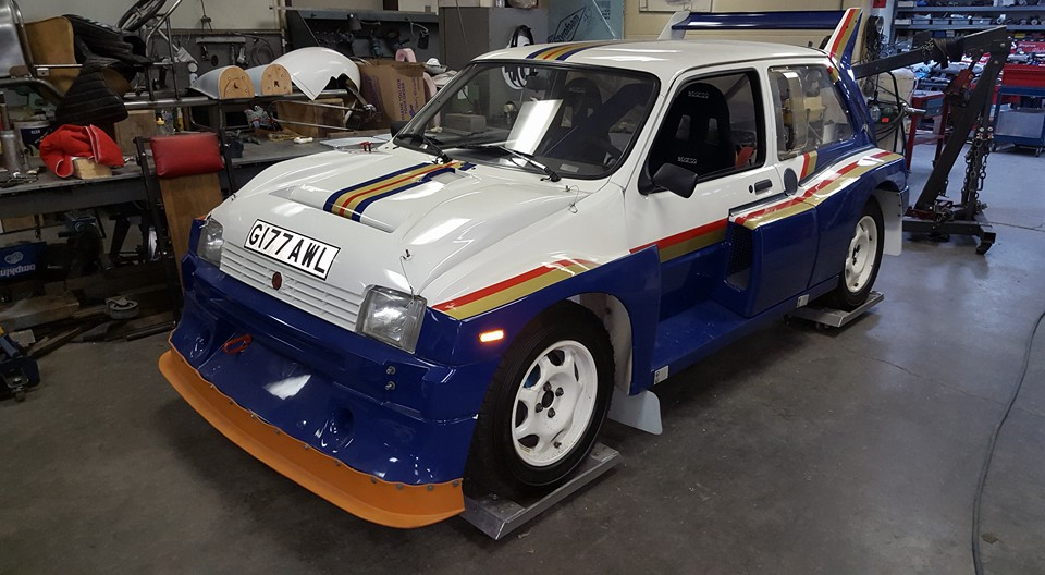 metro 6r4 group b rally car