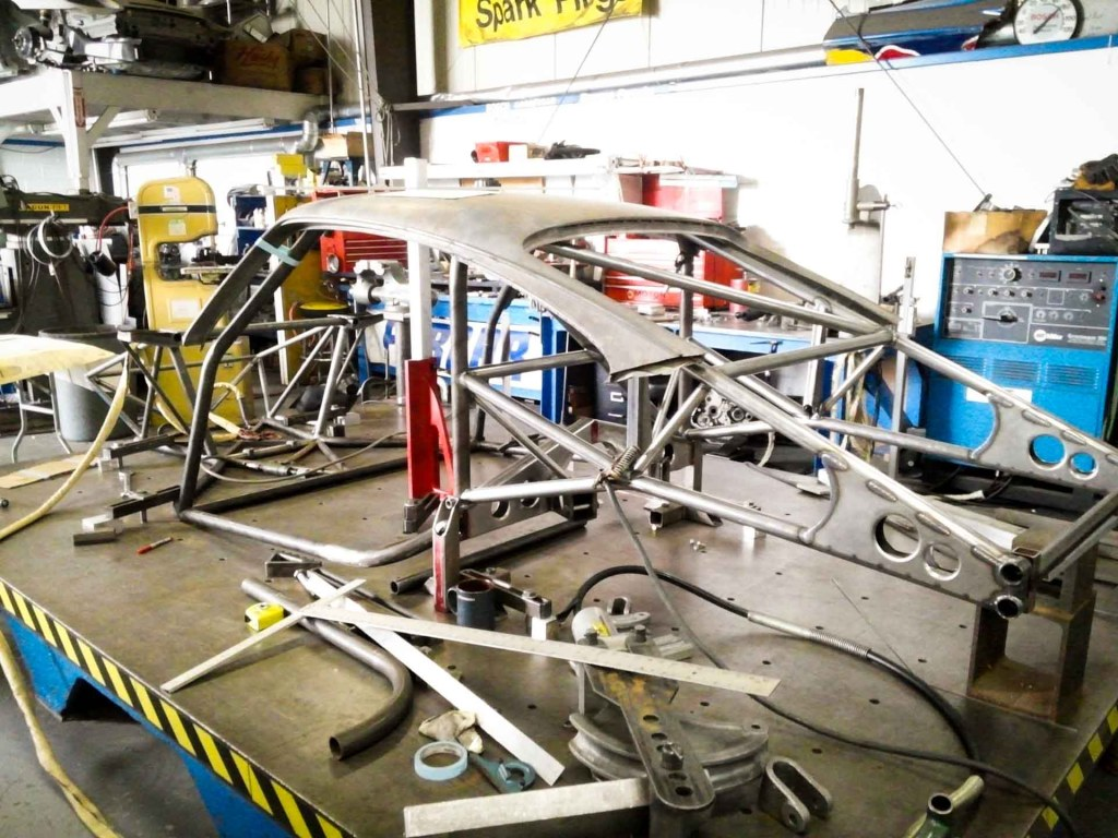 porsche 935 chassis fabrication