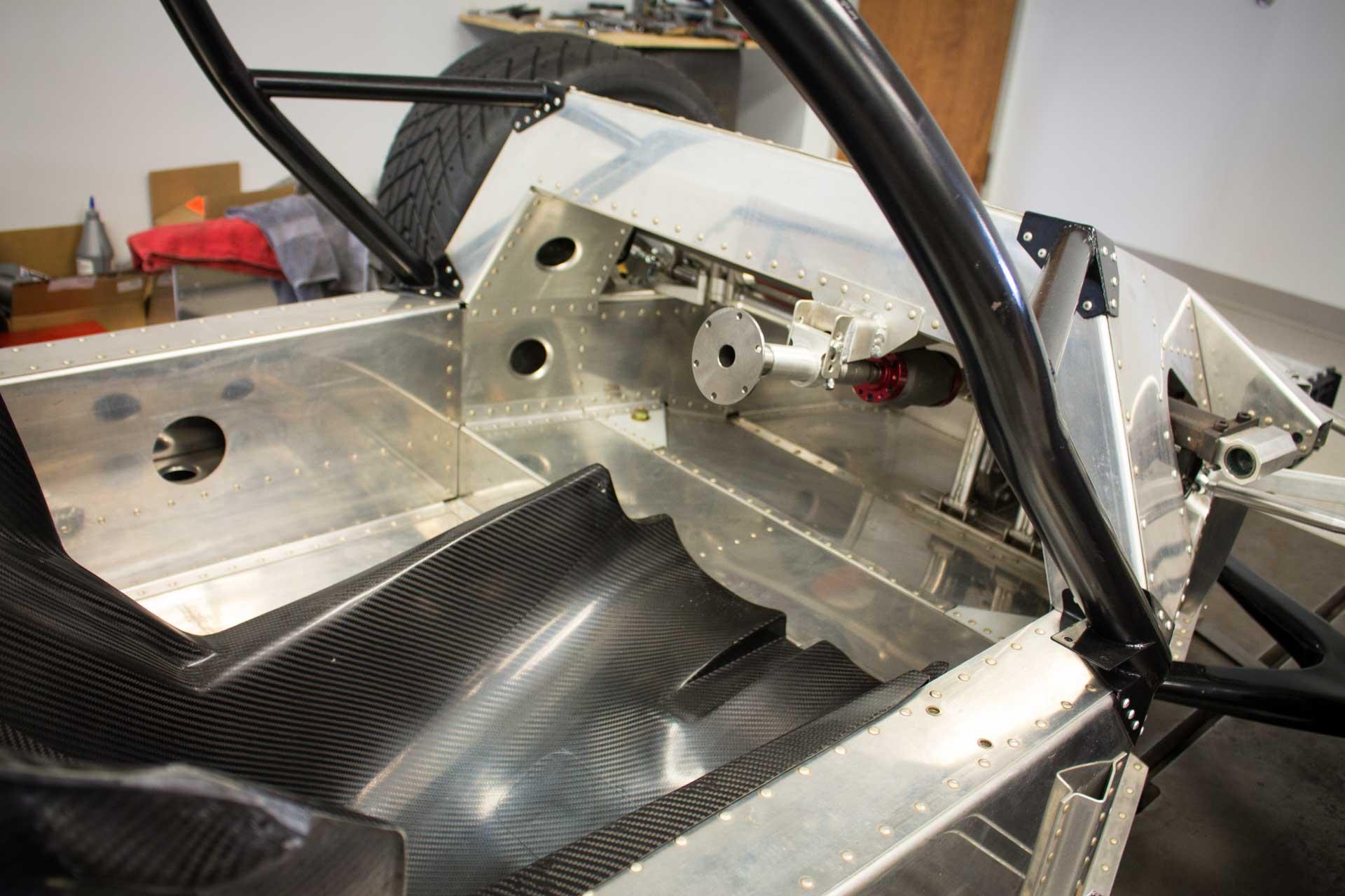 porsche 962 monocoque race car chassis project