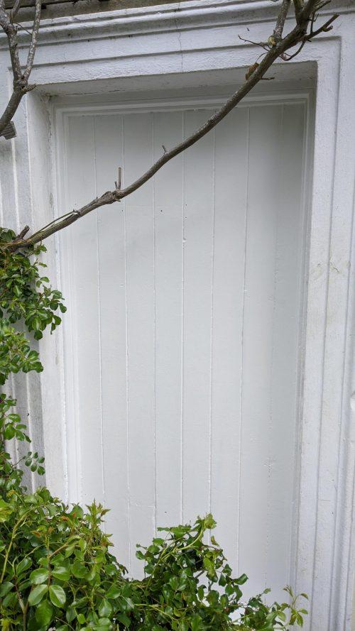 Front Door Linseed Paint
