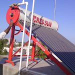 How will Solar Water Heater get damaged?