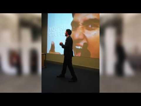 Eduardo López: Charla en IBM sobre TDAH