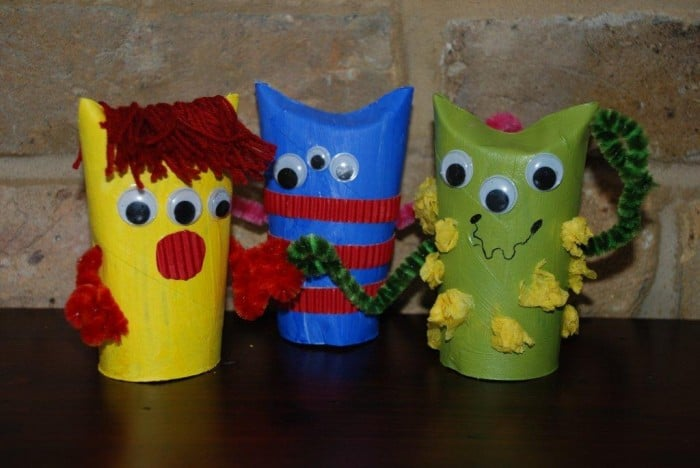 Top 10 Toilet Paper Roll Crafts For Kids Self Sufficiency