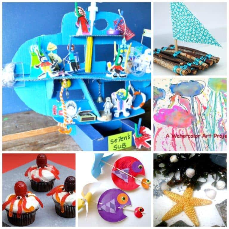 ocean crafts summer crafts