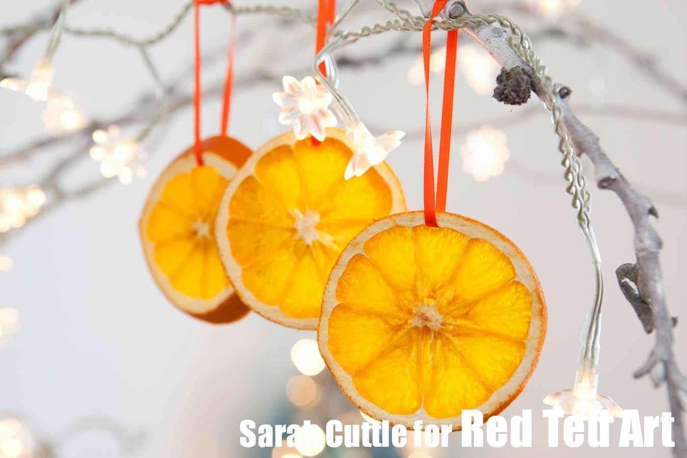 How To Dry Orange Slices
