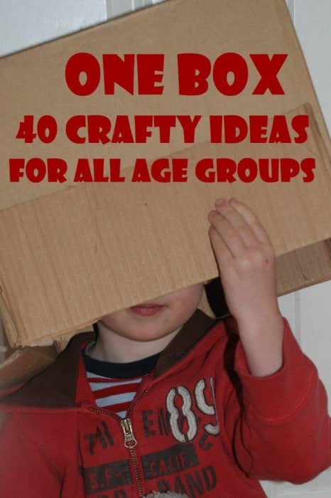 Box Get Crafty What To Make From A Box Red Ted Art Make Crafting With Kids Easy Fun