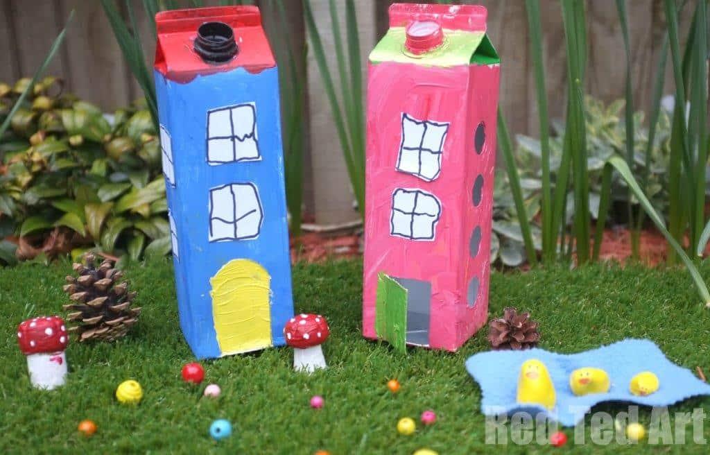 Fairy Houses Cartons