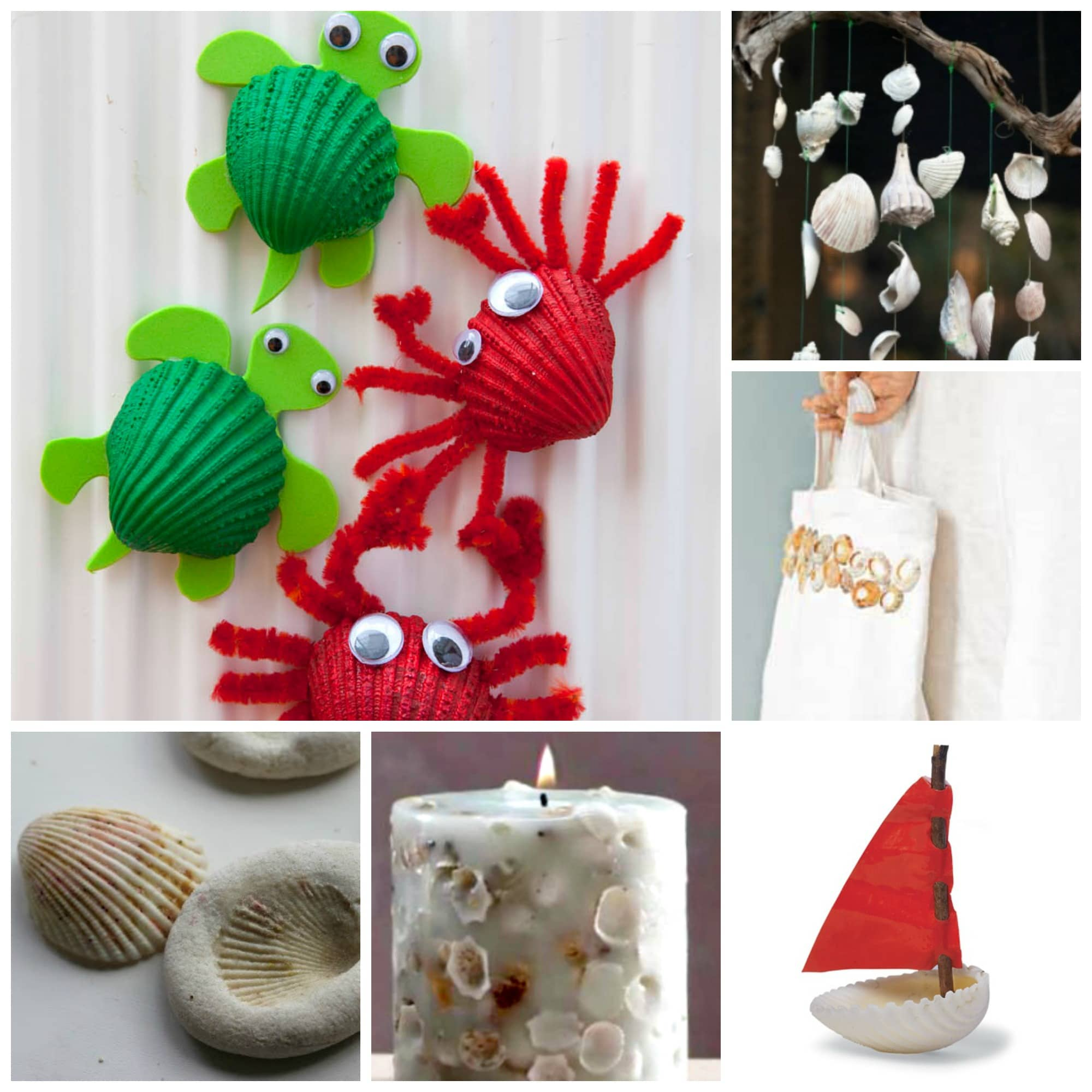37 Sea Shell Craft Ideas Red Ted Art Make Crafting With Kids Easy Fun