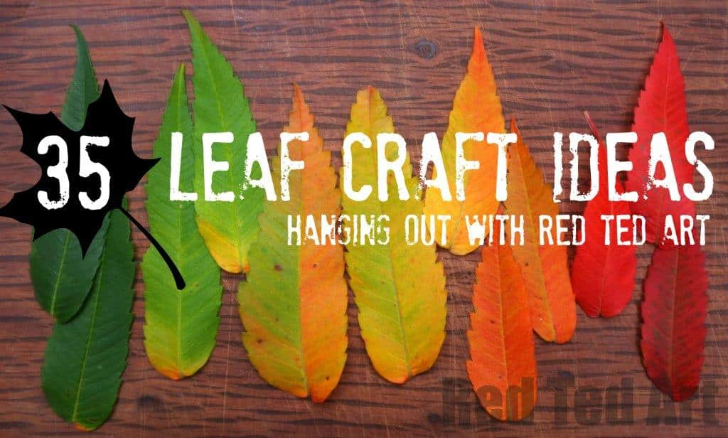 leaf crafts for all