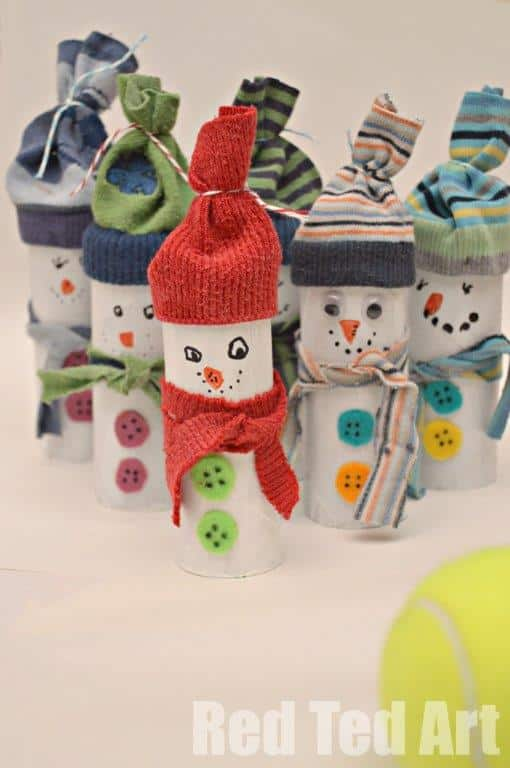 Christmas Crafts Toilet Paper Rolls