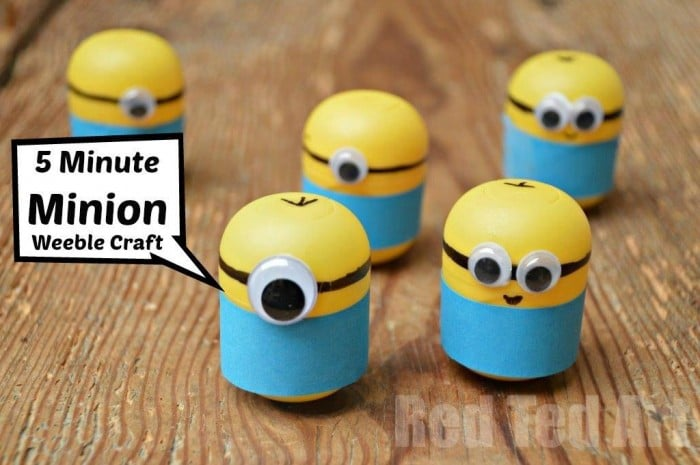 minion crafts weebles made