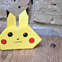 Origami Pokemon Diagram Car Signal Light Wiring Easy Pikachu Craft - Pokémon Go Lovers Red Ted Art's Blog