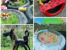 17+ Ways to Reuse Tires! - Red Ted Art's Blog
