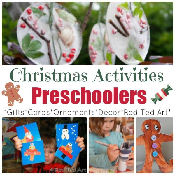 Easy Christmas Crafts For Preschoolers