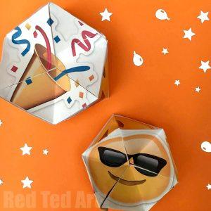 Pokemon Evolution DIY Kaleidoscope Paper Toy Red Ted Art