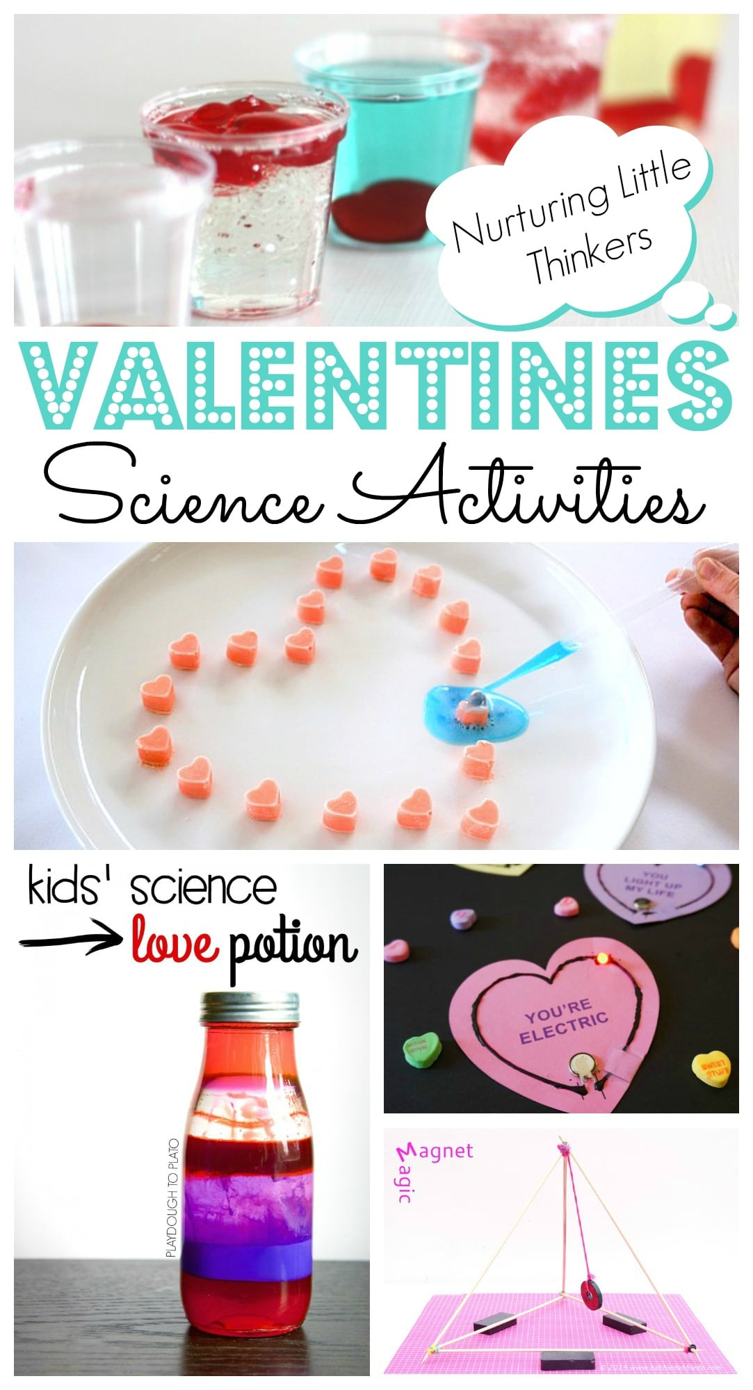 Easy Valentines Day Science Projects