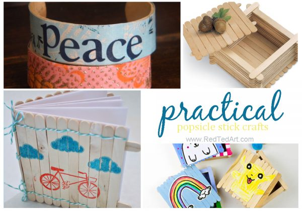 practical popsicle stick crafts