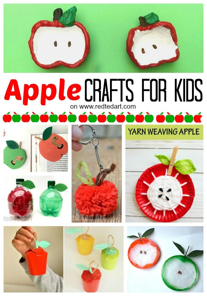 27 easy apple craft