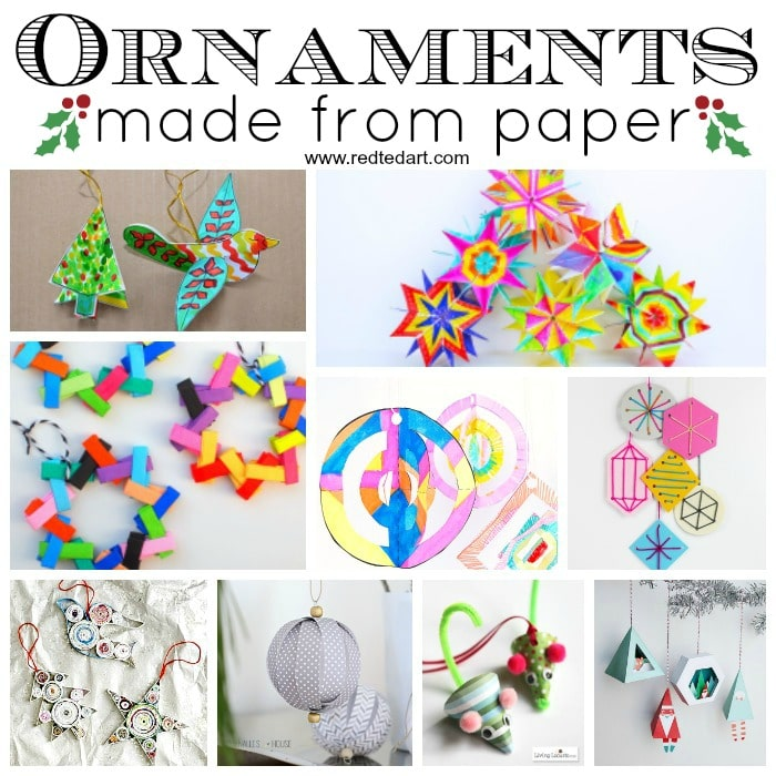 Arts And Crafts For Christmas Ornaments