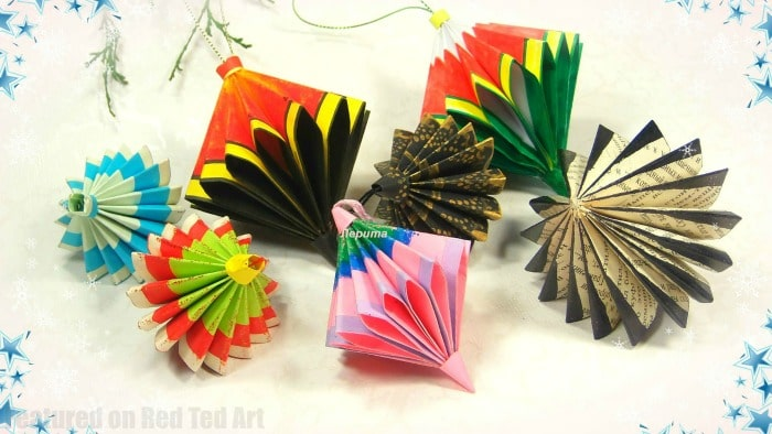 Christmas Decoration Paper Craft