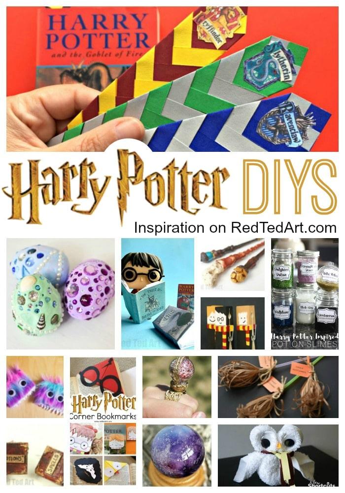 diy harry potter crafts