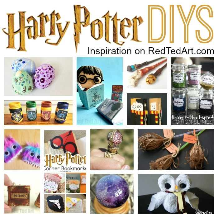 Diy Harry Potter Crafts Ideas Red Ted Art Make Crafting With Kids Easy Fun