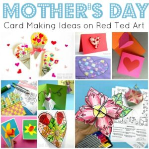 Mother S Day Craft Ideas For You Or Your Kids Red Ted Art Make Crafting With Kids Easy Fun