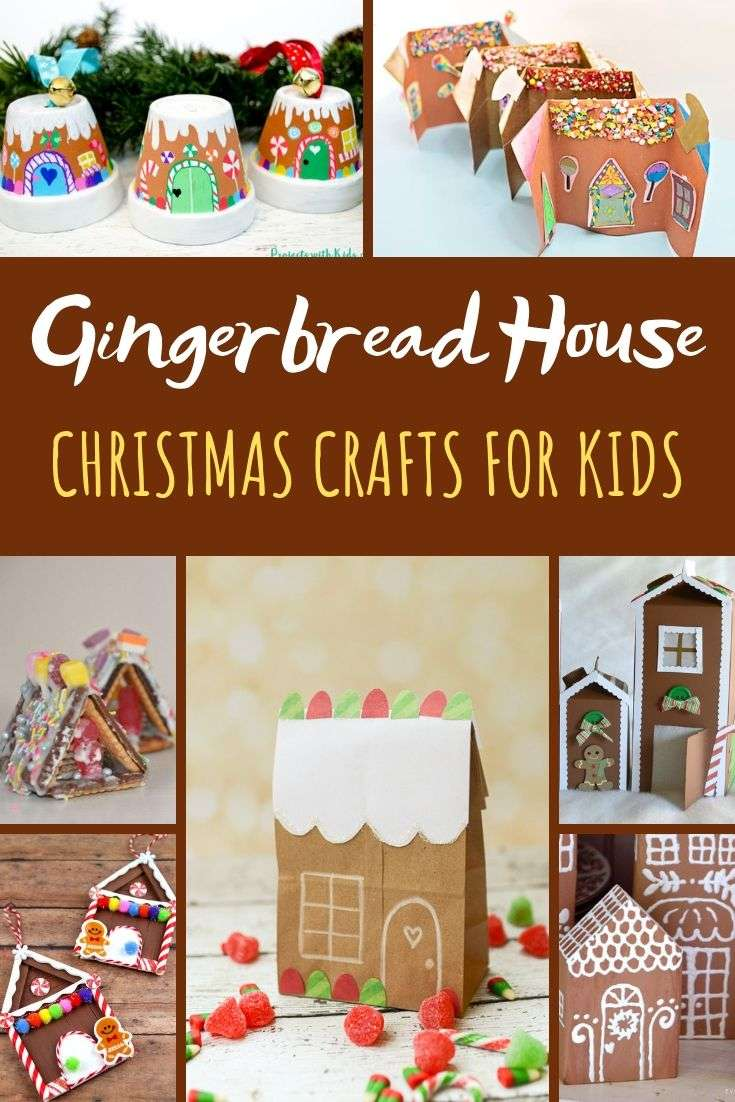 Easy Gingerbread House Crafts For Kids Red Ted Art Make Crafting With Kids Easy Fun