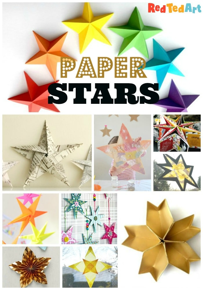 Diy Star Crafts Ideas Red Ted Art Make Crafting With Kids Easy Fun