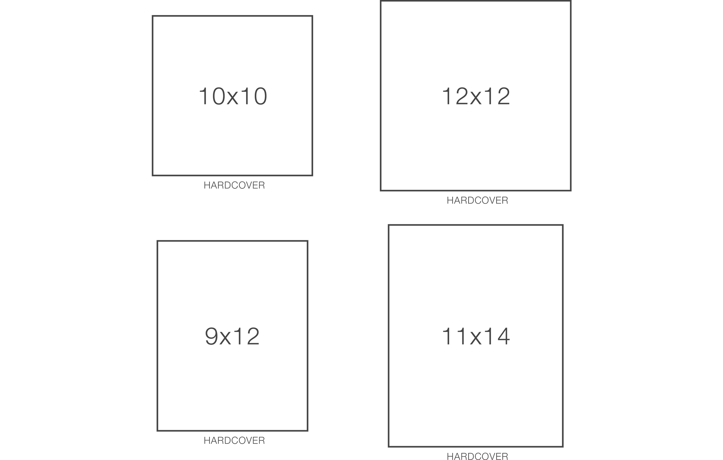 Hardcover Book Sizes