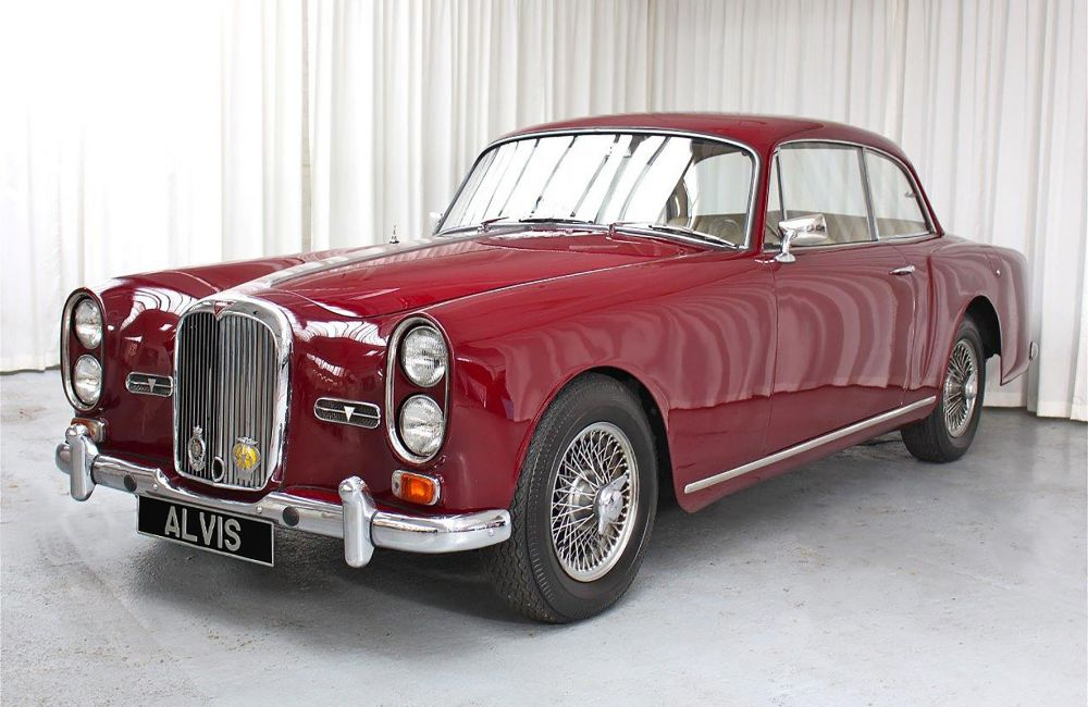 1966 Tf21 Saloon By Park Ward Red Triangle Alvis Parts
