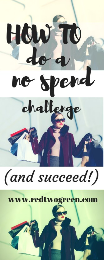 how to do a no spend challenge