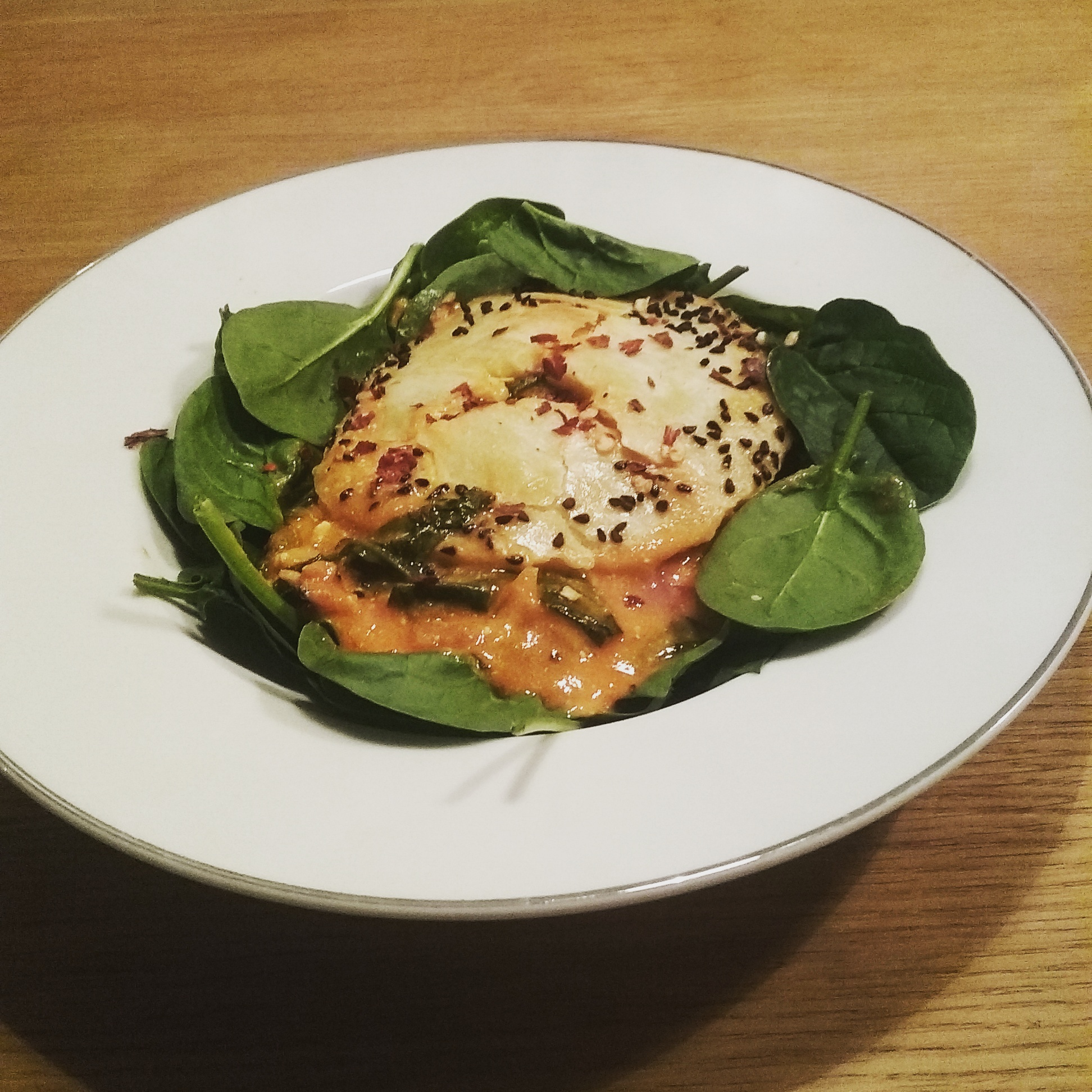 Feta And Spinach Pie V For 4 163 1 50