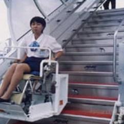 Folding Desk Chair Clawfoot Legs All Nippon Airways Wheelchair Service Reviewthe News