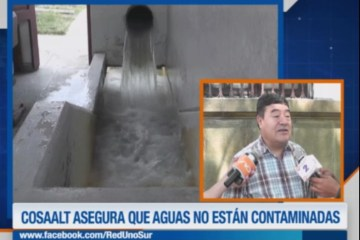 COSAALT DESCARTA CONTAMINACIÓN DEL AGUA POTABLE
