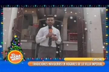 ESPECIAL: TRADICIONES NAVIDEÑAS EN LOS HOGARES DE LA VILLA IMPERIAL