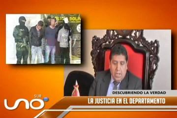 CRISIS  DE LA JUSTICIA EN EL PAÍS