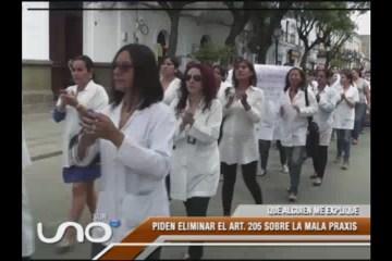 QUE ALGUIEN ME EXPLIQUE: PROTESTA DE LOS MÉDICOS SE MASIFICA