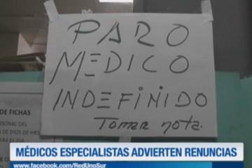 ATENCIÓN DE EMERGENCIAS DEL HOSPITAL SAN JUAN DE DIOS ES INESTABLE