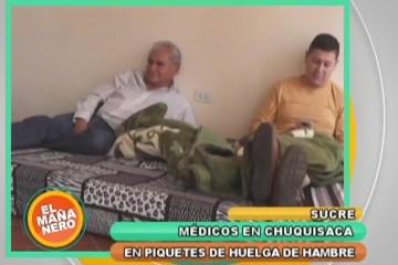 MÉDICOS EN HUELGA DE HAMBRE EN RECHAZO AL ARTÍCULO 205 DEL CÓDIGO PENAL