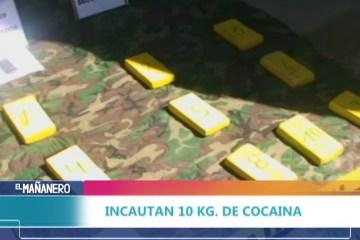 INCAUTAN 10 KILOS DE COCAÍNA