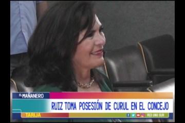 RUIZ TOMA POSESIÓN DE CURUL EN EL CONCEJO MUNICIPAL DE CERCADO
