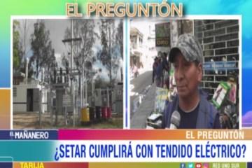 EL PREGUNTÓN: TENDIDO ELÉCTRICO