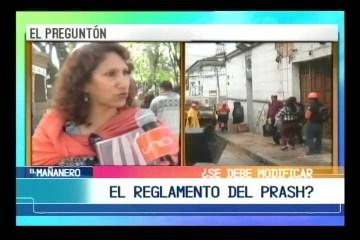 La directora del PRAHS, Yolanda Tirado, nos habla sobre las construcciones en el casco histórico de ciudad de Sucre.