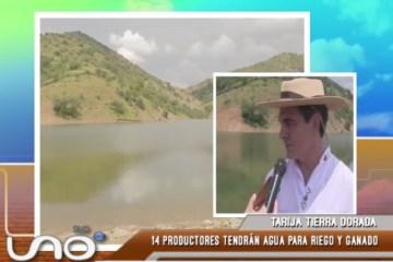 TARIJA TIERRA DORADA: SAN JACINTO YA CUENTA CON UN ATAJADO